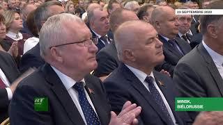 Biélorussie : Loukachenko prête serment pour son sixième mandat
