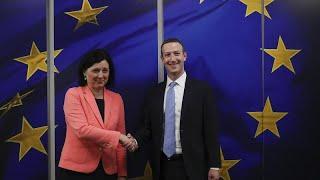 FACEBOOK INC. Le patron de Facebook à Bruxelles