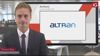 ALTRAN TECHN. Bourse - Action Altran, fausses facturations chez Aricent - IG 16.07.2018