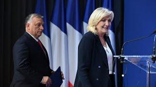 Budapest: Marine Le Pen sul tappeto rosso del sovranismo europeo