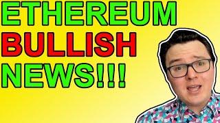 ETHEREUM Whoa! Ethereum Bullish News Overload Today!!!