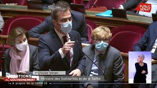 Olivier Véran rappelle aux sénateurs leur vote sur la réouverture des discothèques