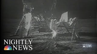 Original Recorded Footage Of The Moon Landing Found | NBC Nightly News