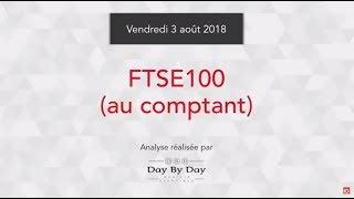 FTSE 100 Achat FTSE 100 au comptant - Idée de trading IG 03.08.2018