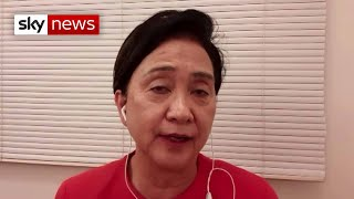 'China cannot behave in such a barbaric way'