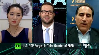 US GDP Surges in Third Quarter of 2020