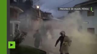 LIVE CATTLE Pérou : la tentative de brûler vifs des voleurs de bétail tourne au vinaigre