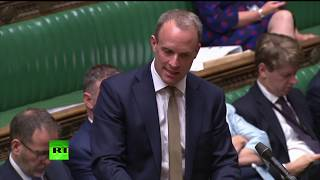 DOMINIC LIVE: Foreign Secretary Dominic Raab gives statement before Boris Johnson faces MPs