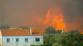 Portogallo spaccato in due dagli incendi