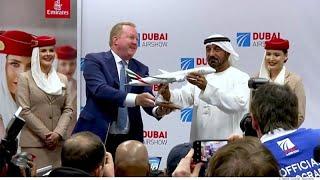 AIRBUS Dubai Airshow 2019 : des contrats majeurs pour Airbus et Boeing