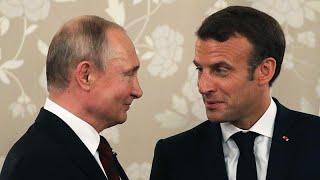Macron recebe Putin antes do G7